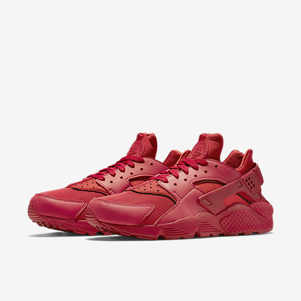 red all over huarache