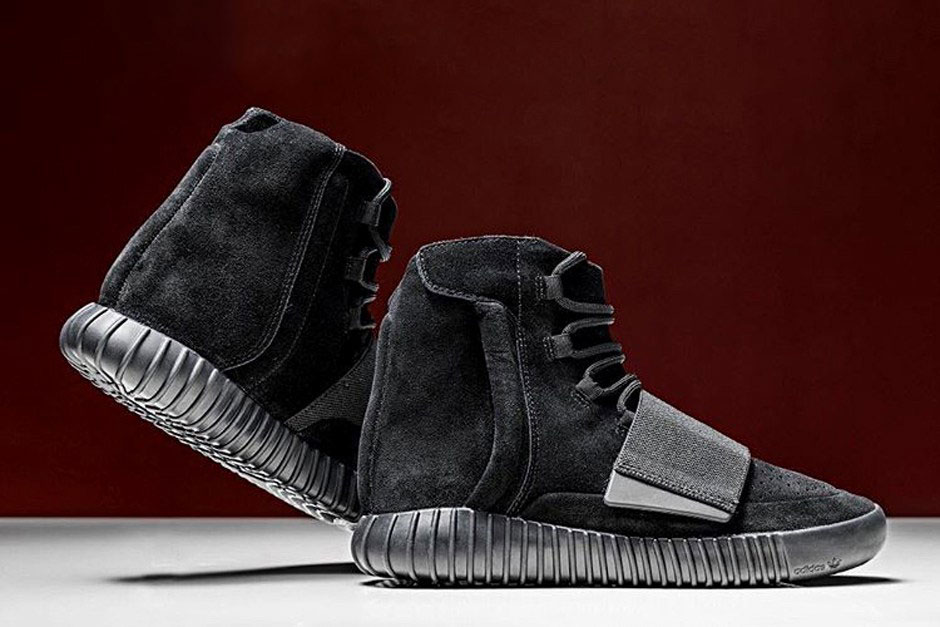 triple black yeezy boost 750