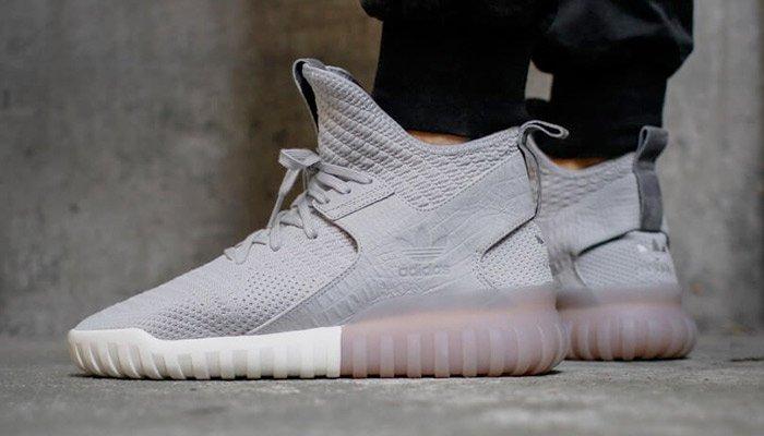 Adidas Tubular X Primeknit Clear Granite Granite