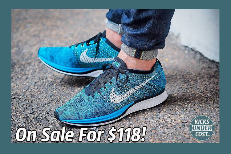 Nike Flyknit Racer Blue Cactus