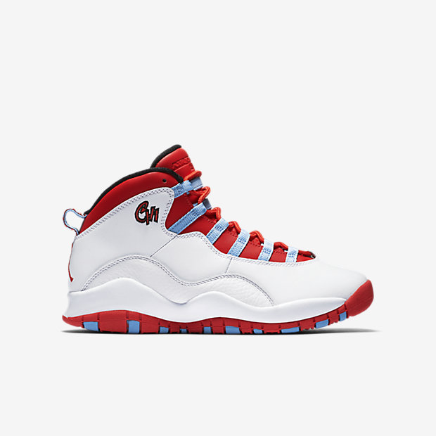 "Jordan X Retro (GS) ""Chicago"" is on sale for $67 with code ""FALL25"" http://goo.gl/iLfHb2"