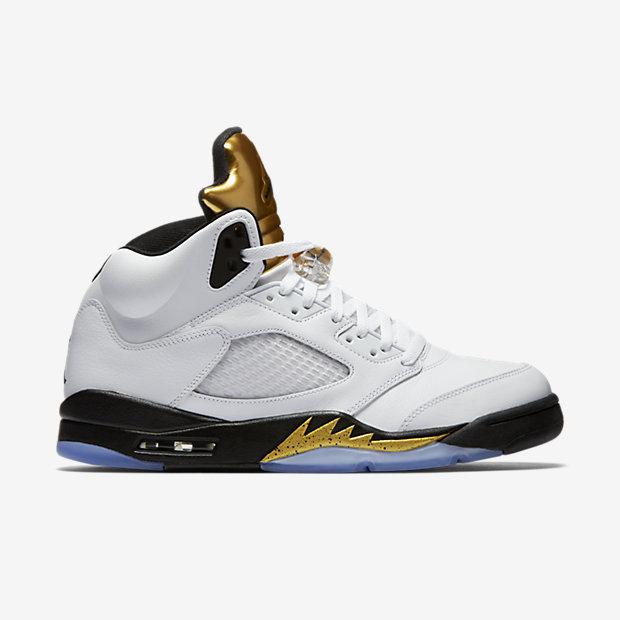 """Jordan 5 Retro """"Gold Tongue"""" $180 shipped http://bit.ly/2bUU3Dr"""