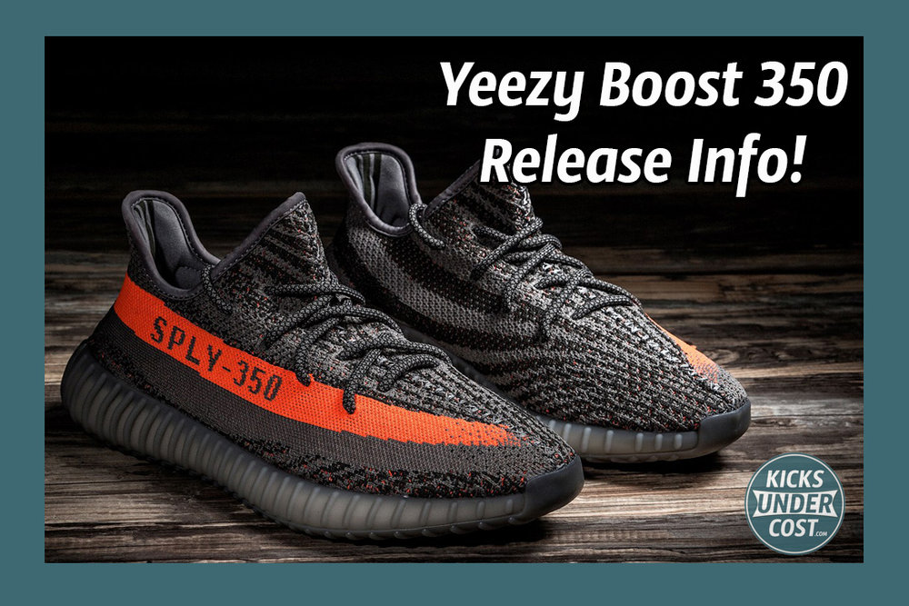 Adidas Yeezy 350 V 2 Boost Low SPLY Beluga Solar Red BB 1826