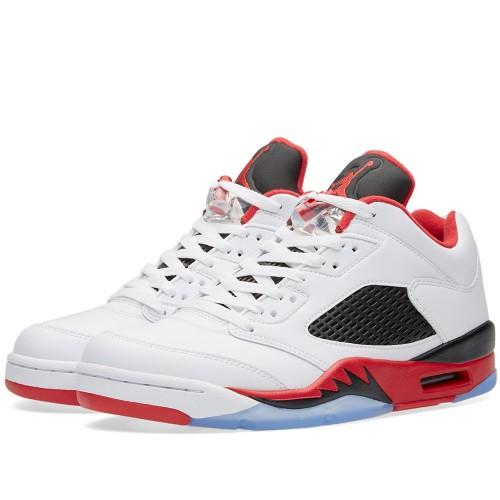 "Nike Air Jordan 5 Retro Low ""Fire Red"" is on sale for $119 -> https://goo.gl/whhQKK"