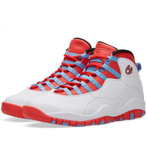 "Nike Air Jordan 10 ""Chicago"" is on sale for $125 -> https://goo.gl/ThmqlJ"