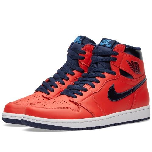 """Nike Air Jordan 1 Retro High OG """"Letterman"""" is on sale for $95 -> https://goo.gl/AhJHee"""