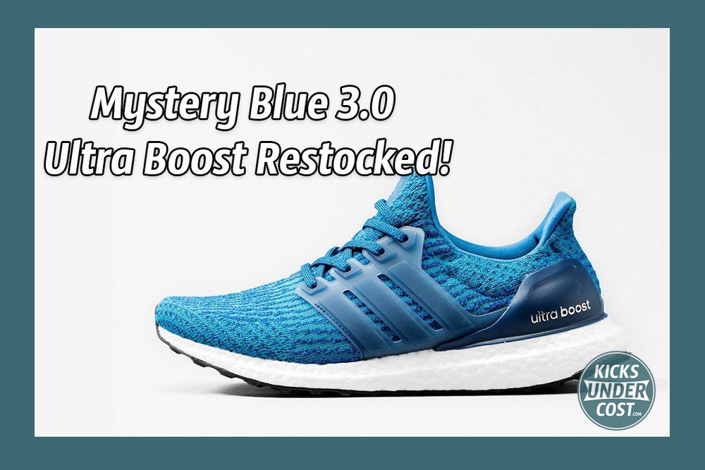 Adidas UltraBOOST 3.0 Aqua Blue • The world 's catalog of