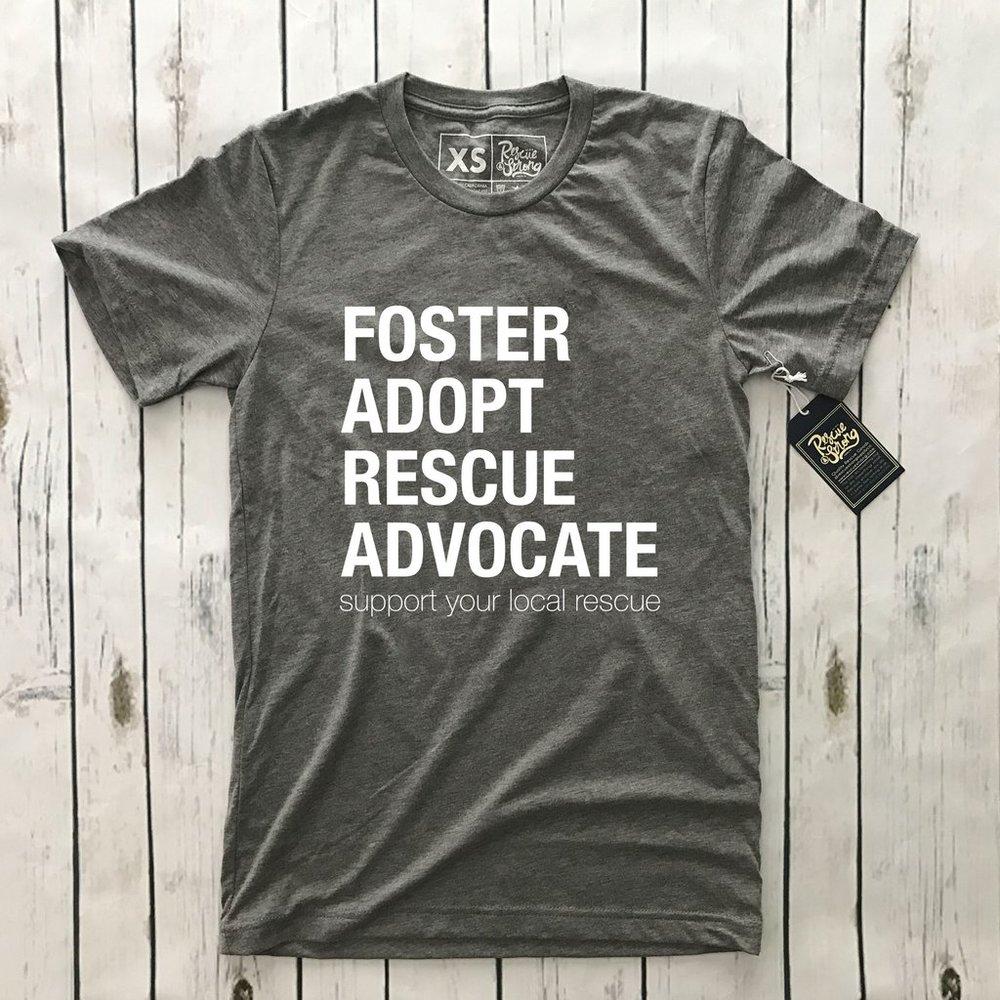 FOSTER. ADOPT. RESCUE. ADVOCATE.
