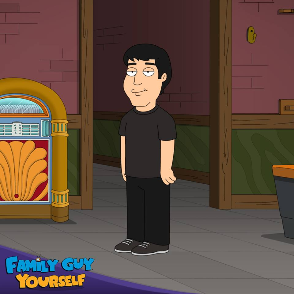 I family guy'd myself, because 300 episodes