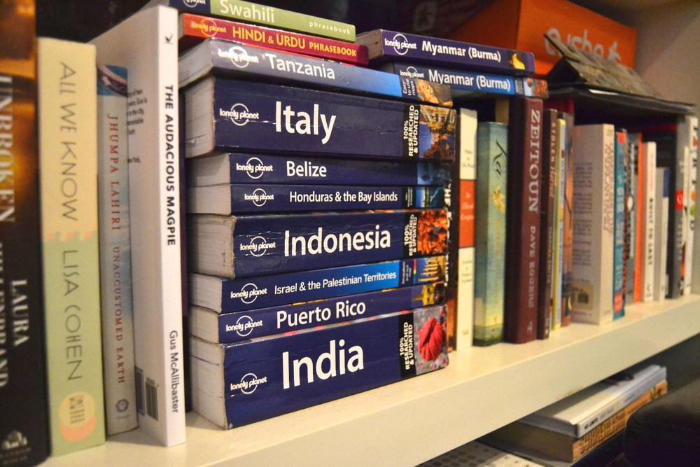 Travel books recall adventures past and adventures to come.