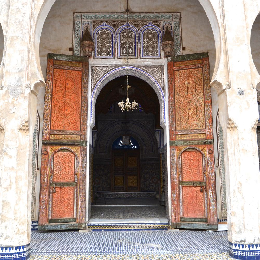 The Glaoui Palace Living Space Entrance
