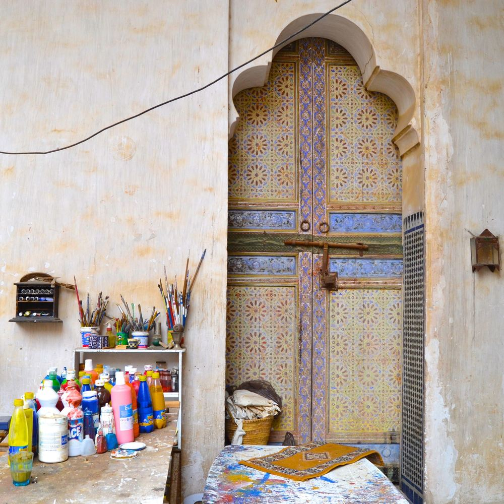 The Glaoui Palace Studio