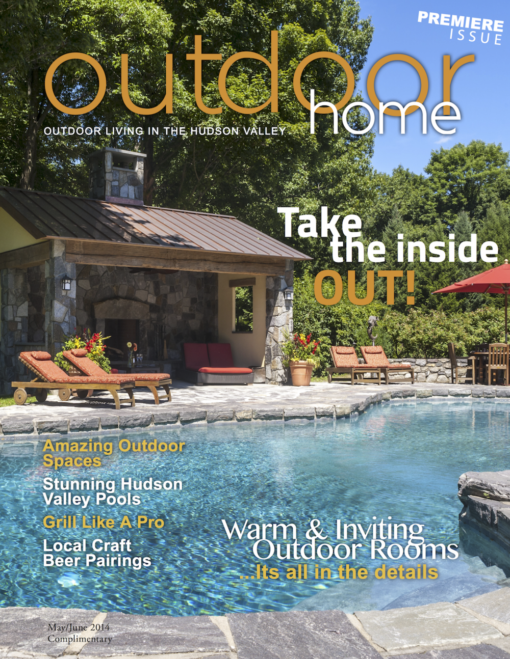 Hudson Valley Magazine - Outdoor Home