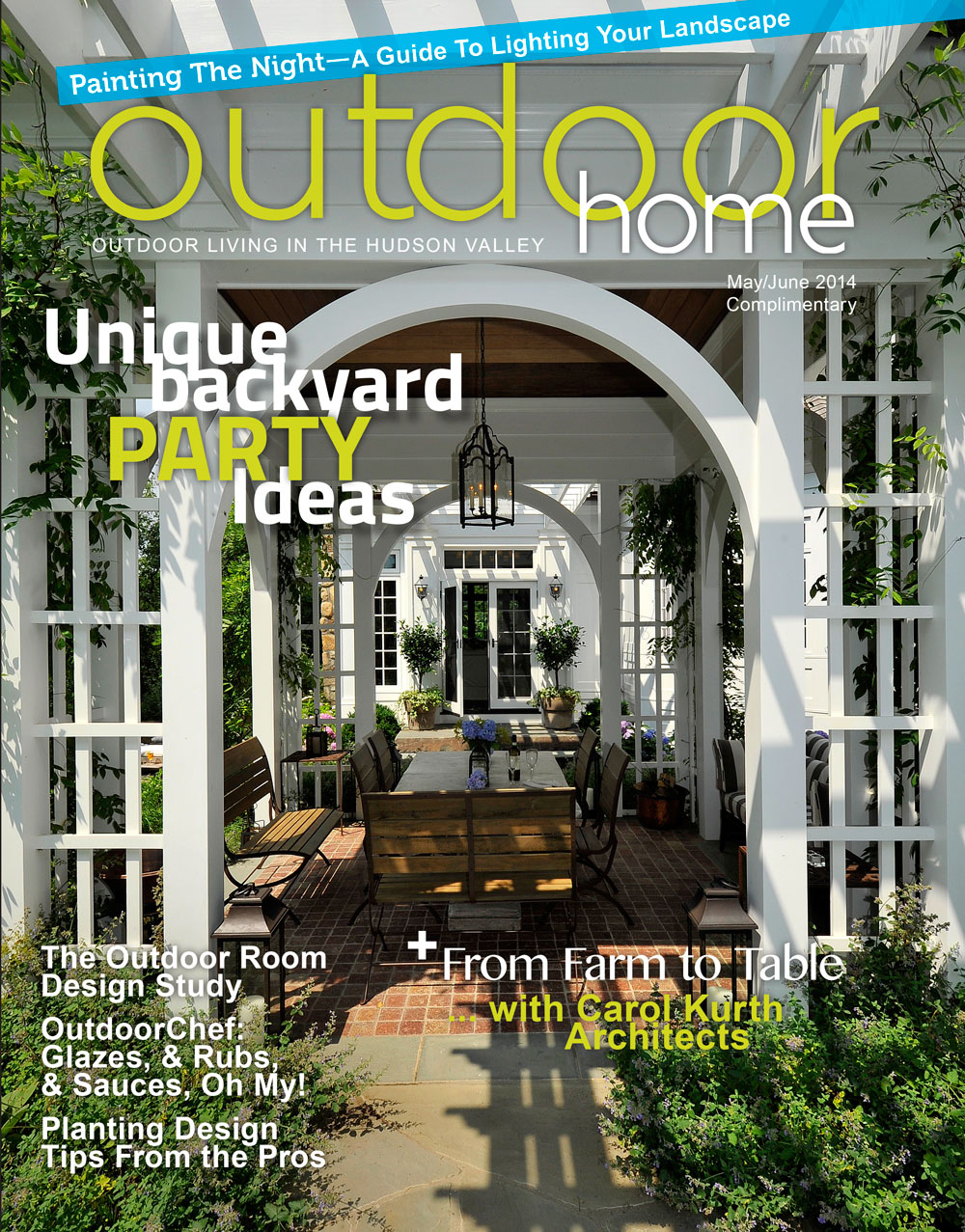Westchester Magazine - Outdoor Home