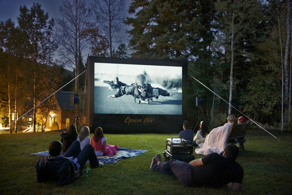 Photo provided by Open Air Cinema, Text by Katie Navarra
