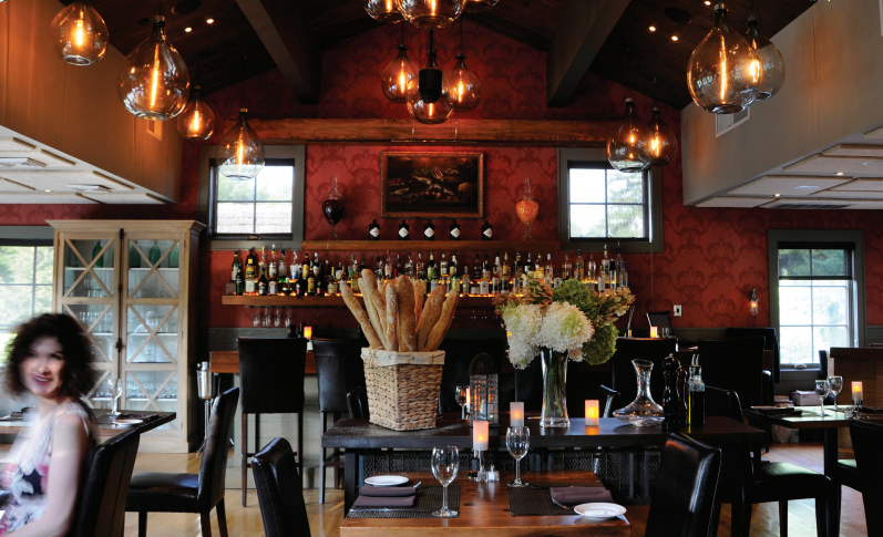 local ingredients are the star at henry's at the farm in milton, ny