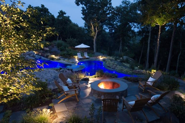 A Luxury Pool Found in Bedford NY & Landscaping Ideas NY CT