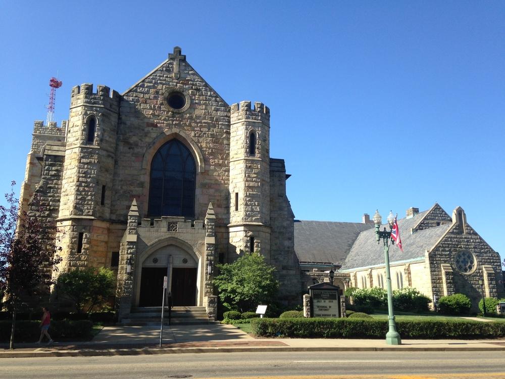 Our new home; Christ Presbyterian Church