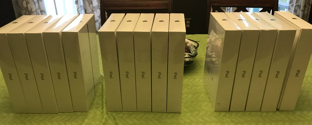 15 iPads