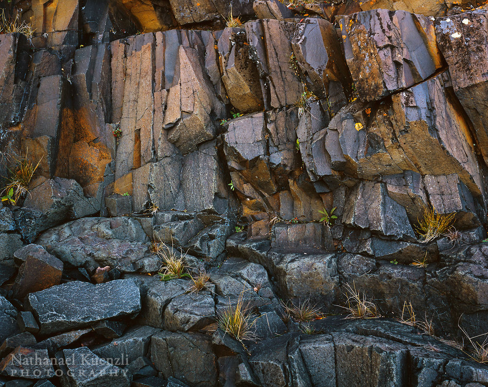 Rock Detail, Grand Portage State Forest, Minnesota, October 2006
