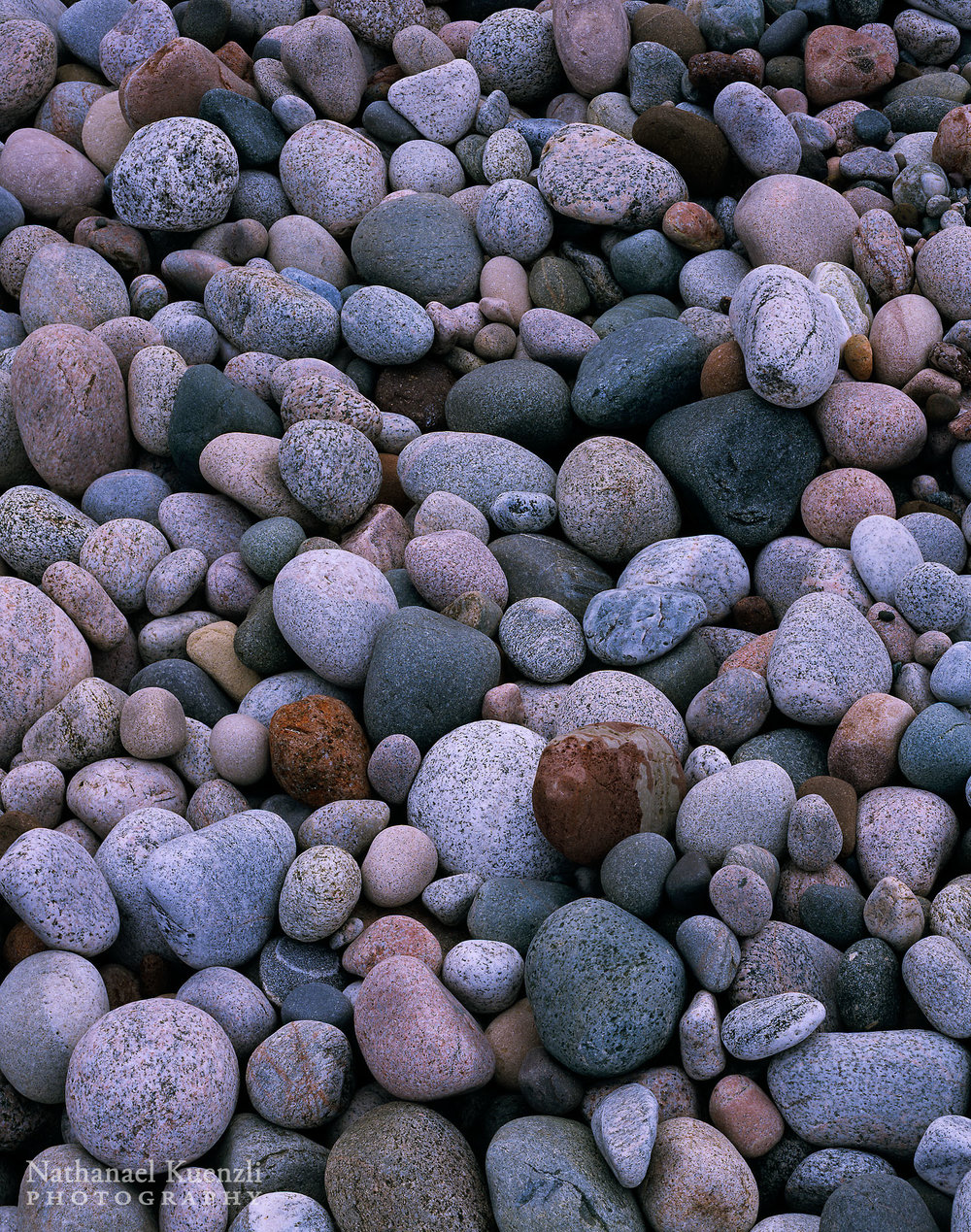 Beach Rocks, Pictured Rocks National Lakeshore, Michigan, May 2003