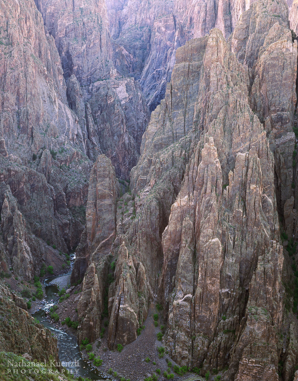 Black Canyon of the Gunnison National Park, Colorado, May 2004