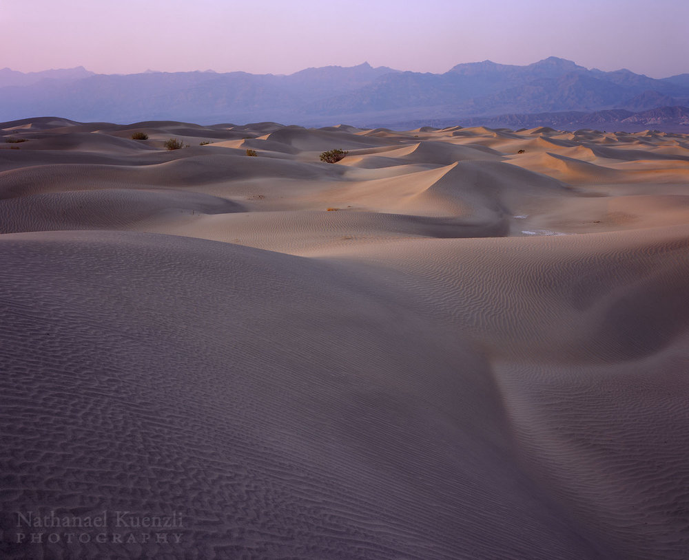 Sand Dunes, Death Valley National Park, California, April 2008