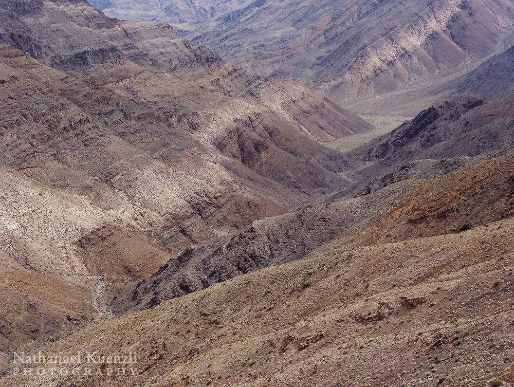 Panamint Range Detail, Death Valley National Park, California, April 2008