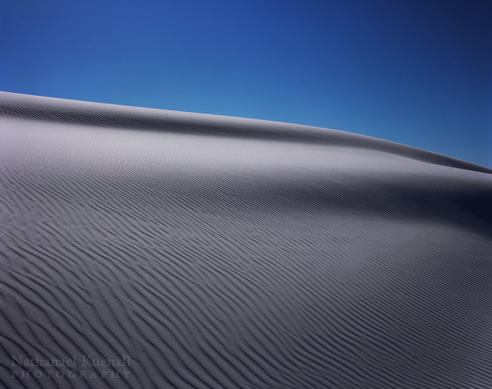 Dune Detail, White Sands National Monument, New Mexico, March 2008