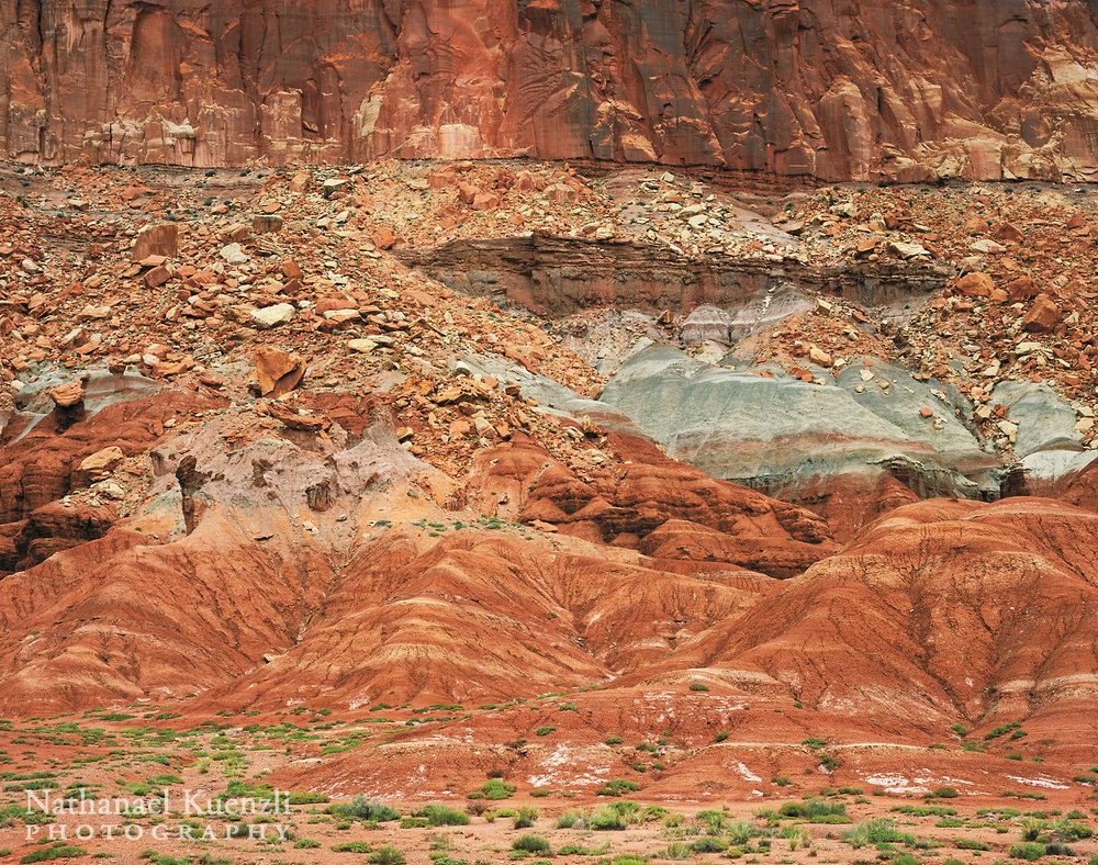 North Wall, Capitol Reef National Park, Utah, May 2005