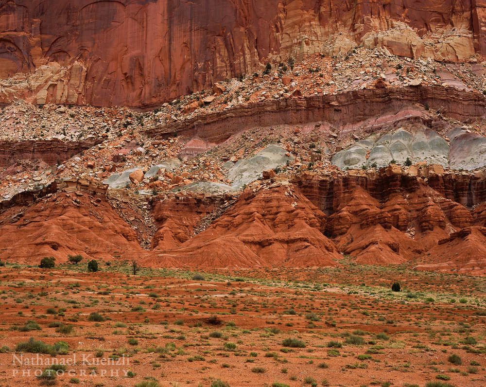 East Wall, Capitol Reef National Park, Utah, May 2005