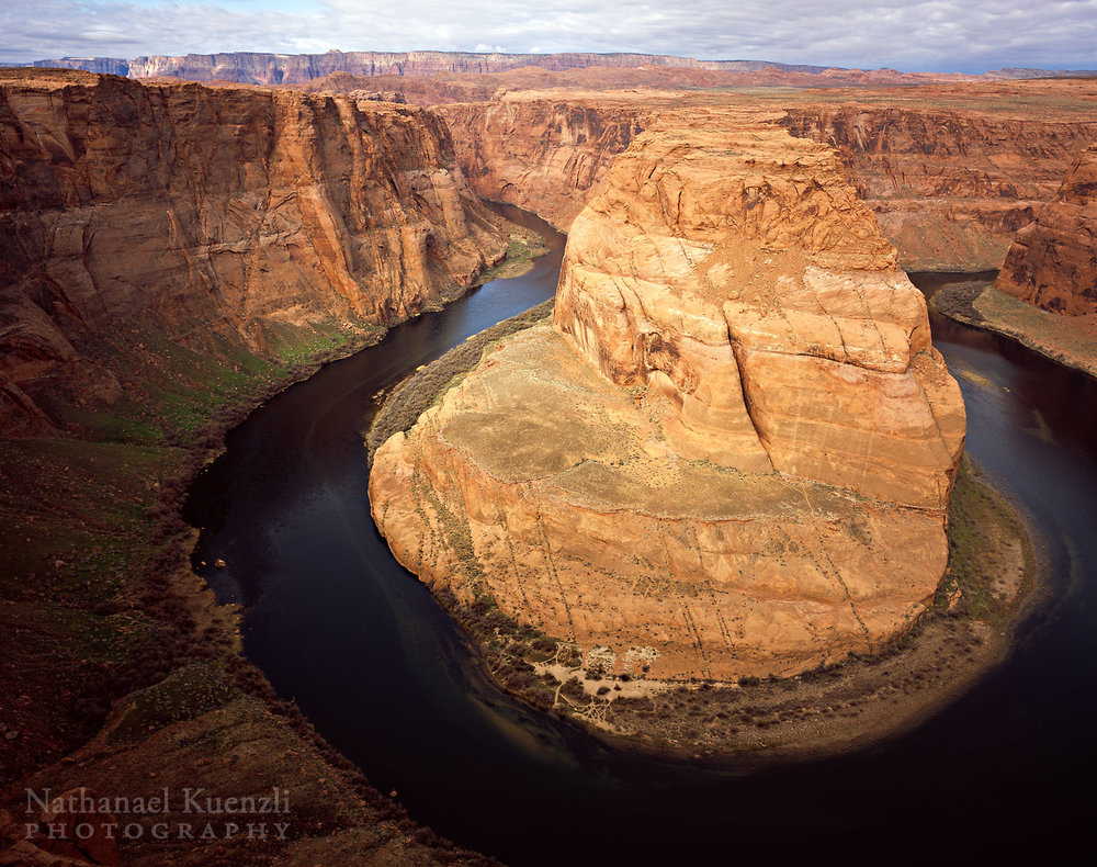 King Bend of Colorado River, Glen Canyon NRA, Arizona, March 2011