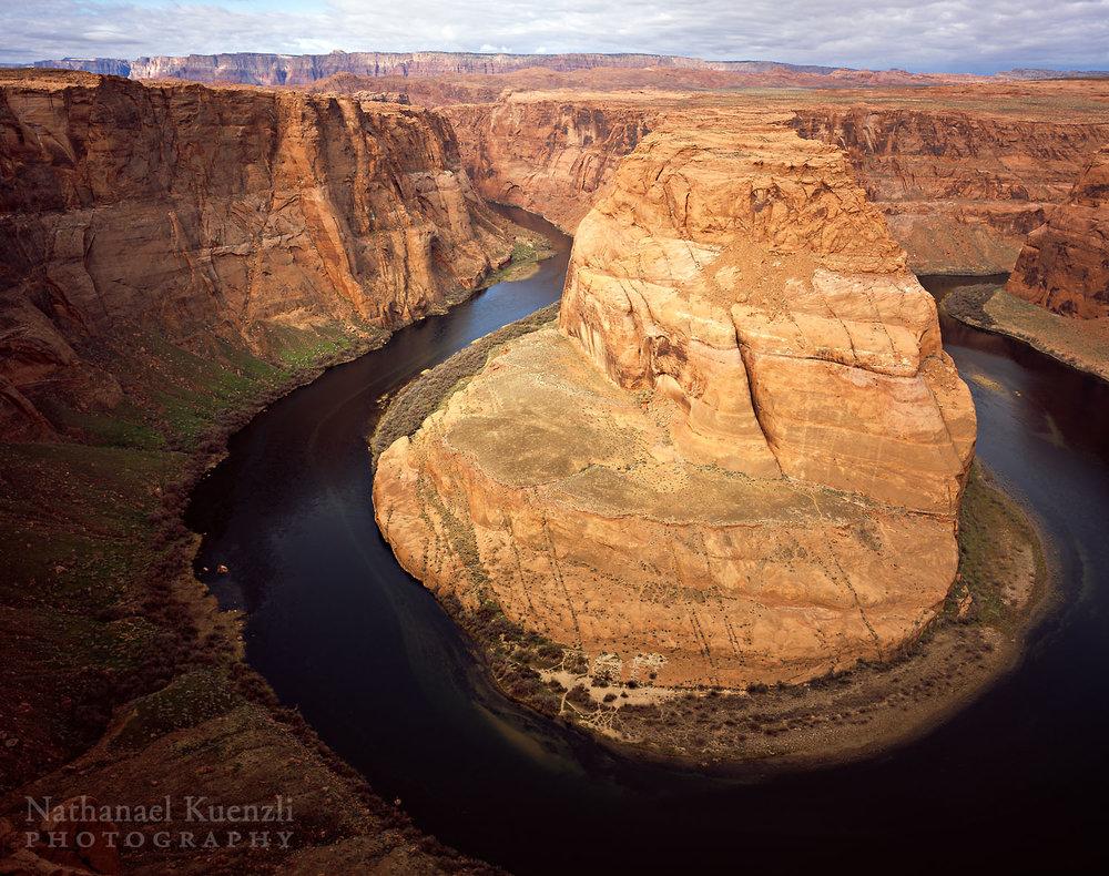 King Bend of Colorado River, Glen Canyon NRA, Arizona, March 2011