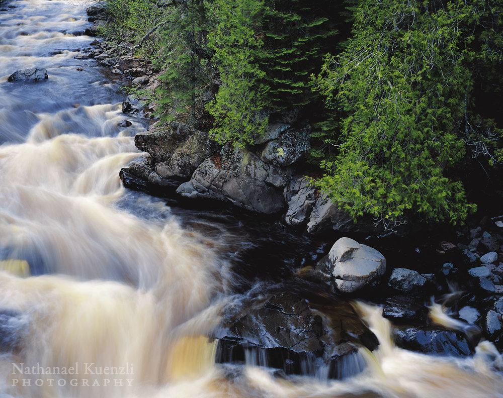 Cascade River, Cascade River State Park, Minnesota, June 2005