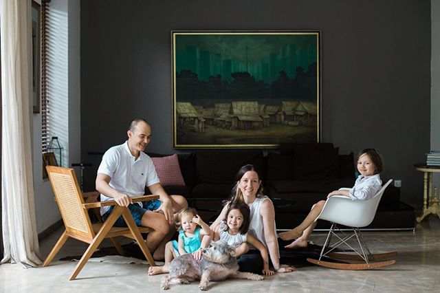 I fall in love with all my families. And this one, for their artful way of living, for their tender and whole love, for the way they see each other and know each other, and for the way they sat in this light and looked for a moment like a painting.⁣ #jakarta ⁣ .⁣ .⁣ .⁣ .⁣ .⁣ .⁣ .⁣ .⁣ #indonesia #livefolk #lveauthentic #lifestylephotography  #familyphotography #letsgosomewhere #stayandwander #mytinyatlas #exploremore #flashesofdelight #thehappynow #pursuepretty #dearphotographer #thebloomforum #clickinmoms #roamtheplanet #letthekids #candidchildhood #childhoodunplugged #thelifestylecollective #momswithcameras #theglobewanderer #cameramama #livethelittlethings #earthfocus #optoutside #lightinspired #kidsforreal #littleandbrave
