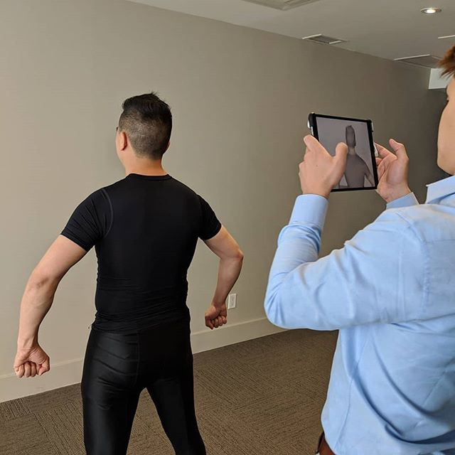 Getting @passenfit so that clothes for when we buy online #ecommerce #bodymodel #3D @stuartalancampbell