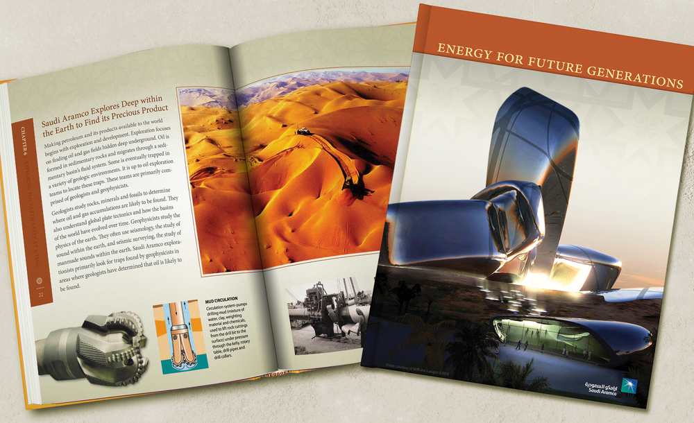 Saudi Aramco Book Concept