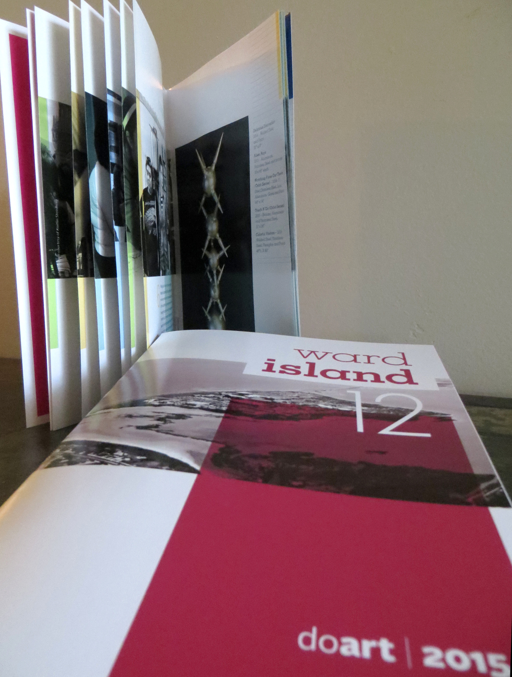 2015 TAMUCC Department of Art Biennial Faculty Art Exhibit Brochure