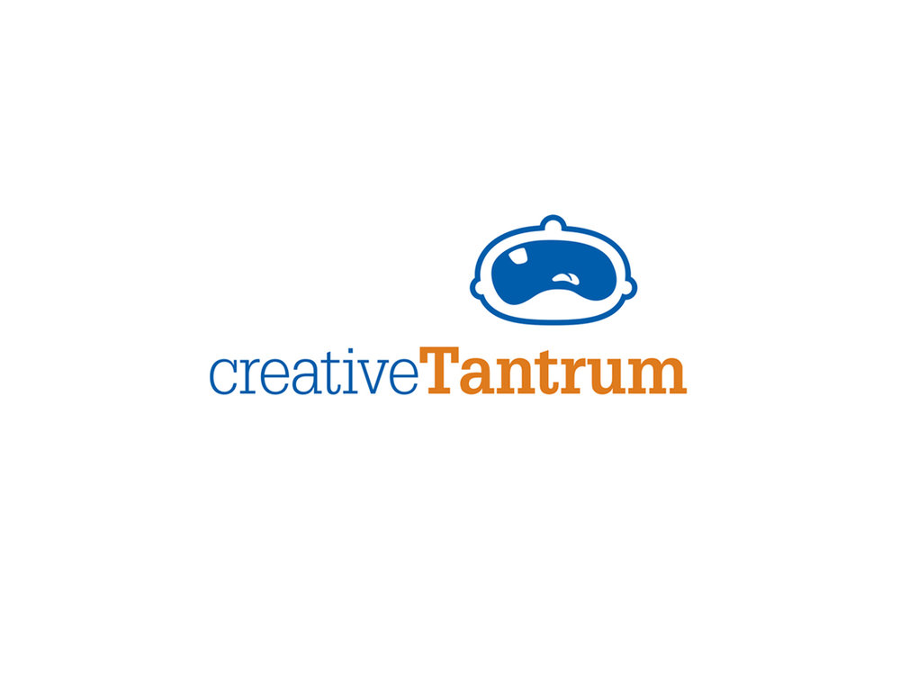 Describing the creative process as childish fit of rage was an enormous risk when I first developed the name and identity of my own company. However after painstakingly developing the logo and corresponding marketing language, a creative tantrum became a positive measure for quality design.
