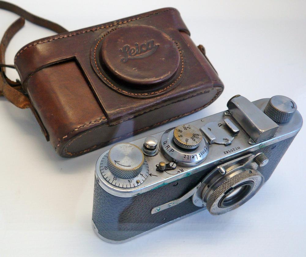 Henri's first Leica