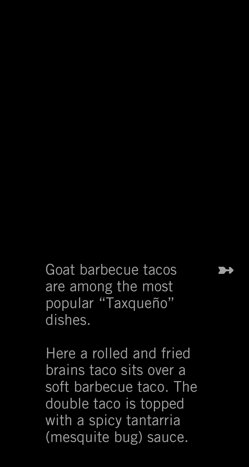 Goat Barbeque Tacos