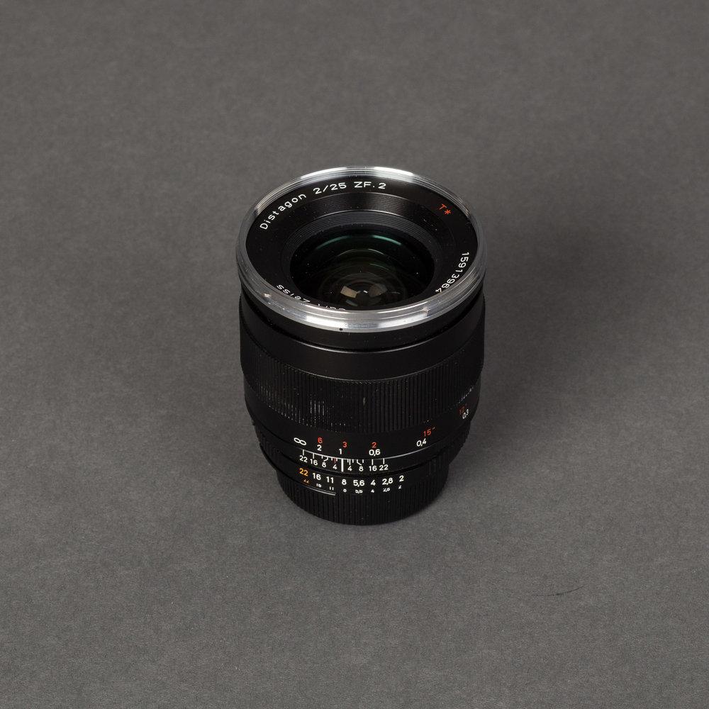 Carl Zeiss 25mm T F2
