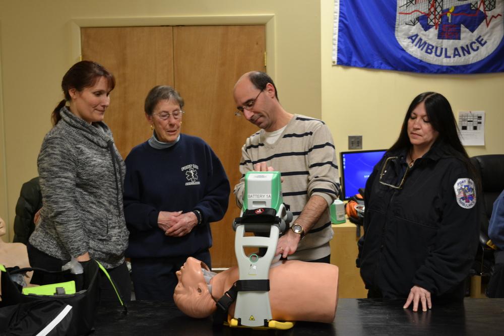 LUCAS™2 Training Class. Fort Lee Volunteer Ambulance Corps, Inc.