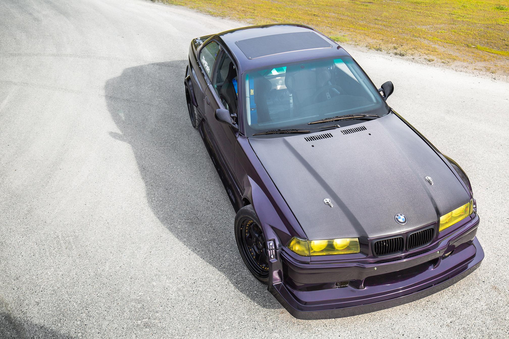 Bmw E36 Ls Powered Drift Car Eric Schofhauser