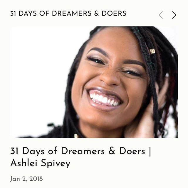 """Day 2 features @ashleivonne founder of Ay Spivey, @ibeblackgirl, @sistahgurlsociety and the Young Black & Influential awards. """"She has a passion for helping her community and challenging injustice."""" Focused on inclusion and equity framework, meet Ashlei Spivey.  #31daysofdreamersanddoers #inclusion #diversity #collaboration #network #blackgirlmagic #blackswhoblog #omaha #Nebraska #sisterhood #ibeblackgirl #ixd"""