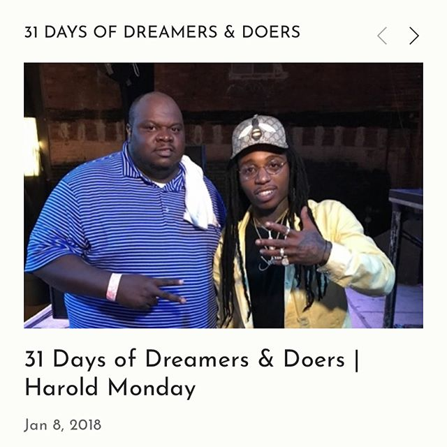 Another double dose for you guys, with @hardknocks213 and @ayyomoniloc ! Event planning galore. Birthdays, baby showers, artist management and top level concerts with the likes of @hairweavekiller and @jacquees . Only right they showed up in the #31DaysofDreamersandDoers. ----- Harold Monday plans events, promotes and manages artists and other entrepreneurs. He's all about passing his knowledge on and helping whomever he can WIN . Full of life and always spreading good energy. ----- Miss Monica is the founder of One Creative Mommy. Birthdays, baby showers, art classes - she plans and teaches. Take a look at her journey and snippets of some of the cool events she's done.  #Omaha #nebraska #IxD #collaboration #dreamer #doer #music #eventplanner #2chainz #jacquees #linkinbio #branding #media #creative
