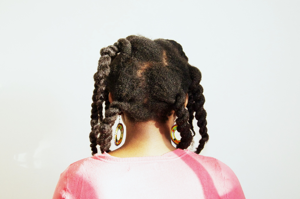 Hair tip: for a less scalpy twist out, make your parts undefined and assymmetrical!