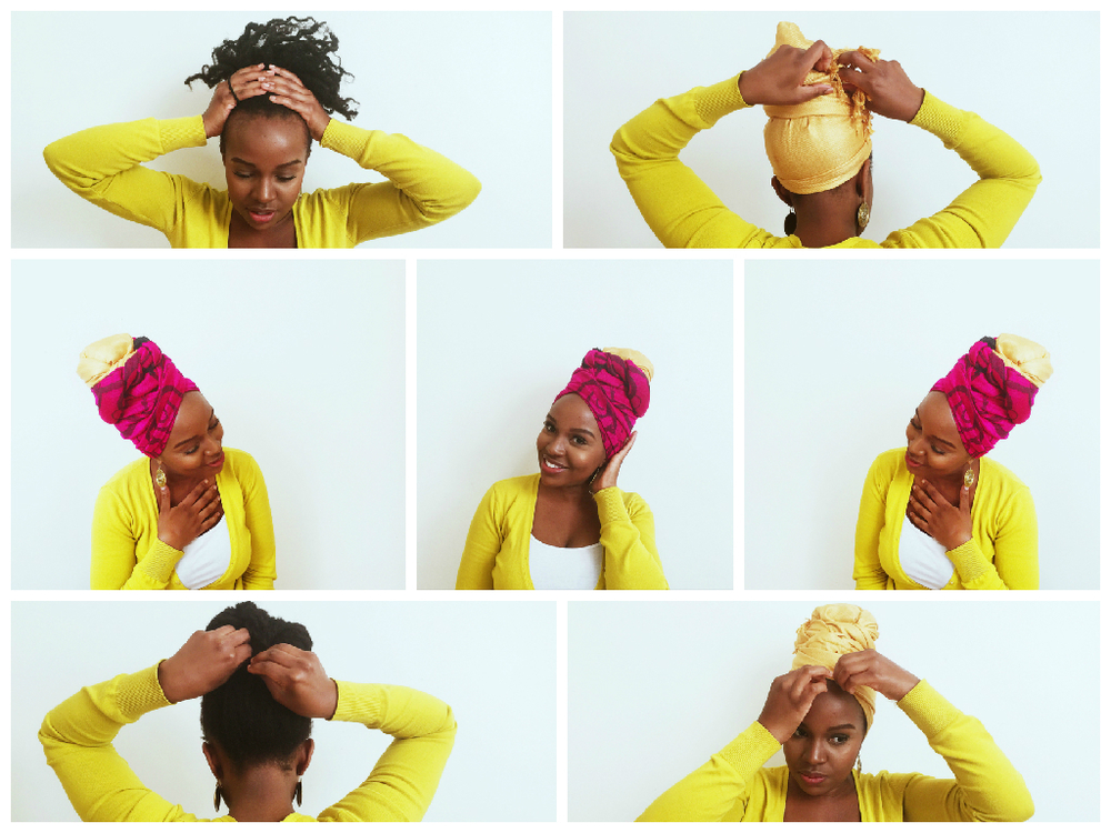 How To Tie A Turban Like Erykah Badu Craving Yellow