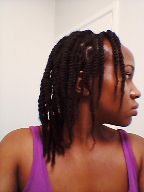 Two Strand Twists Length Retention