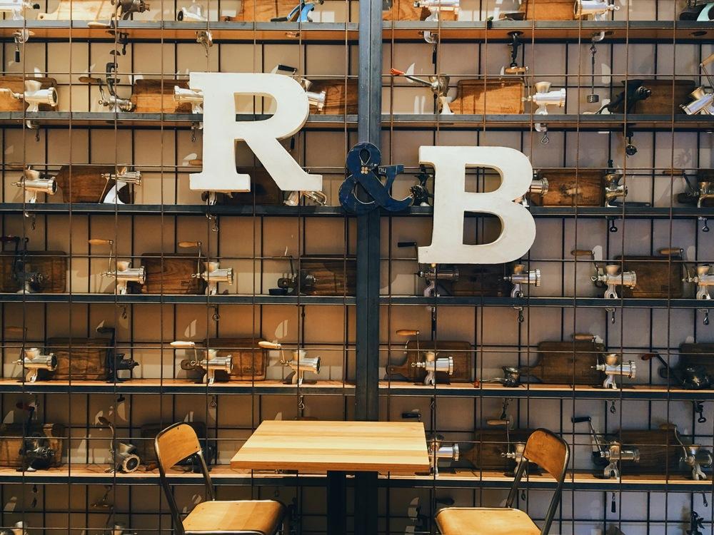 Ribs and Burgers is like Rhythm & Blues...! SSSoooo ggooodd!! #YesThatWasLame Haha!